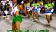 Samba Dance Hips Movements at Rio´s Sambadrome