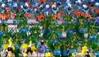 Samba troupes parade at Rio's Carnival