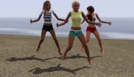 The Sims dance video - Danza Kuduro