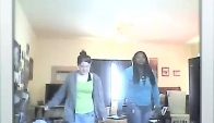 The Wobble dance with friend