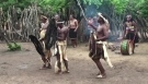 Typical Zulu village and dances