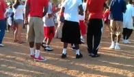 Uh Hoopers dance the wobble