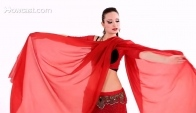 Veil Lift and Butterfly Move Belly Dance