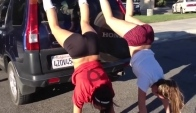 Volleyball Girls Twerk It