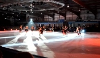 Widnes Poi Can Can Routine Ice Dance