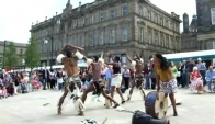 Zulu Dance Troupe at the Huddersfield