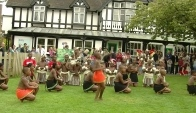 traditional Zulu dance at Bristol Zoo